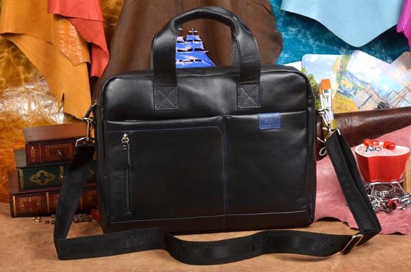 Мужская черная сумка-портфель BB1