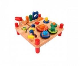 Деревянная игрушка развивающий стол