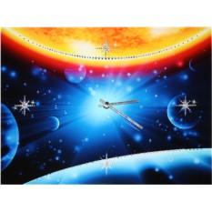 Часы с кристаллами Swarovski Во Вселенной