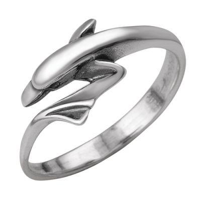 Кольцо в формме дельфина