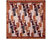 Платок шелковый Jean-Louis Scherrer Geometrique