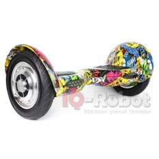 Гироскутер Smart Balance Wheel SUV Графити с черепами