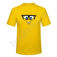 Мужская футболка Спанч Боб в очках