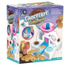 Детский печатный станок Шоколадные монетки своими руками