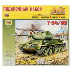 Сборная пластиковая модель «Танк Т-34/85»