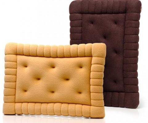 Подушка интерьерная «Печенька прямоугольная»