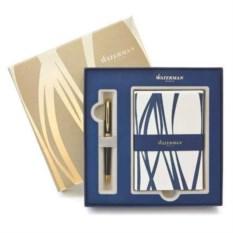 Шариковая ручка Hemisphere Black и набор открыток