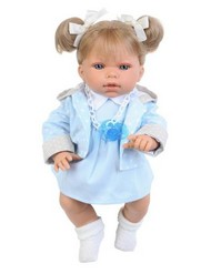 Кукла Луиза в голубом