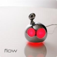 Красная лампа Blob & Flow