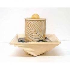 Декоративный фонтан Цилиндр