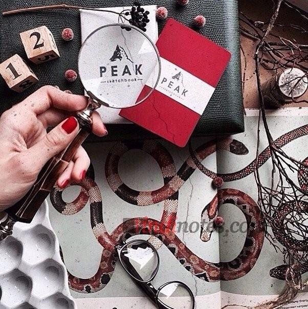 Тетрадь-скетчбук Red Peak