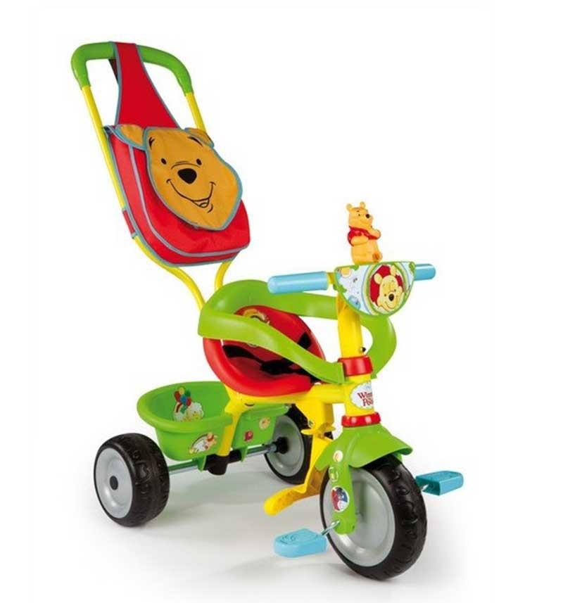 Велосипед Smoby Be Fun Confort Winnie Винни Пух
