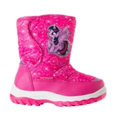 Ярко розовые сноубутсы My Little Pony
