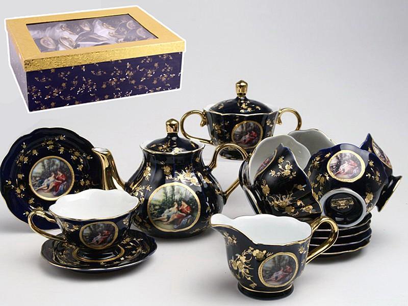 Чайный сервиз Пара на 6 персон из 15 предметов