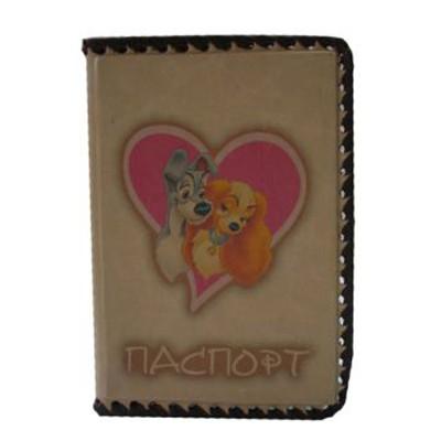 Обложка для паспорта детская Леди и Бродяга