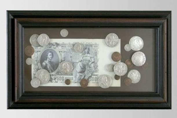 Настенное панно Монеты Петр I