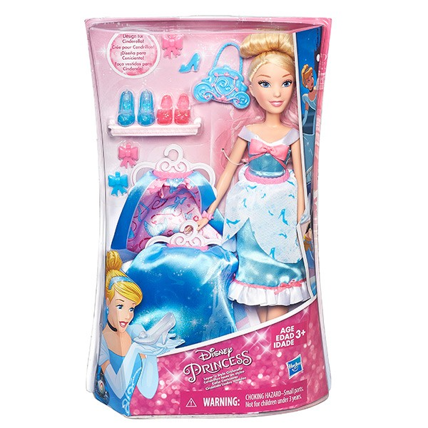 Кукла Hasbro Disney Princess Принцесса со сменными юбками