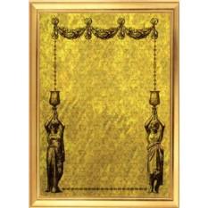 Подарочный диплом из золота