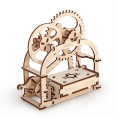 Деревянный конструктор Механическая шкатулка
