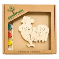 Развивающая игрушка Петушок с красками
