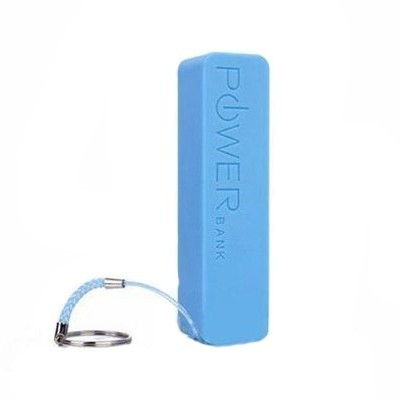 Голубой внешний аккумулятор 2600 mAh POWER bank