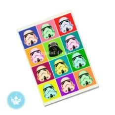 Обложка на паспорт Star Wars pop-art
