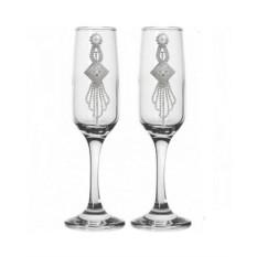 Набор свадебных бокалов №50