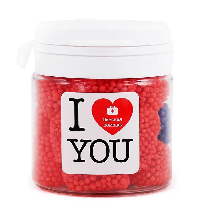 Сладкий сувенир «Я люблю тебя»