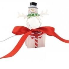 Cветильник с меняющимися цветами «Снеговик»