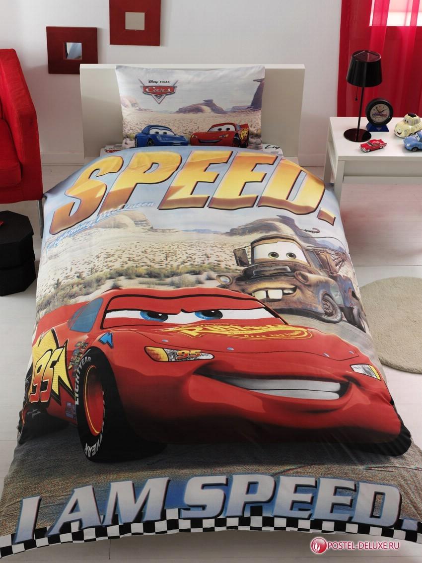 Детское постельное белье TAC Disney The Cars (3D эффект)