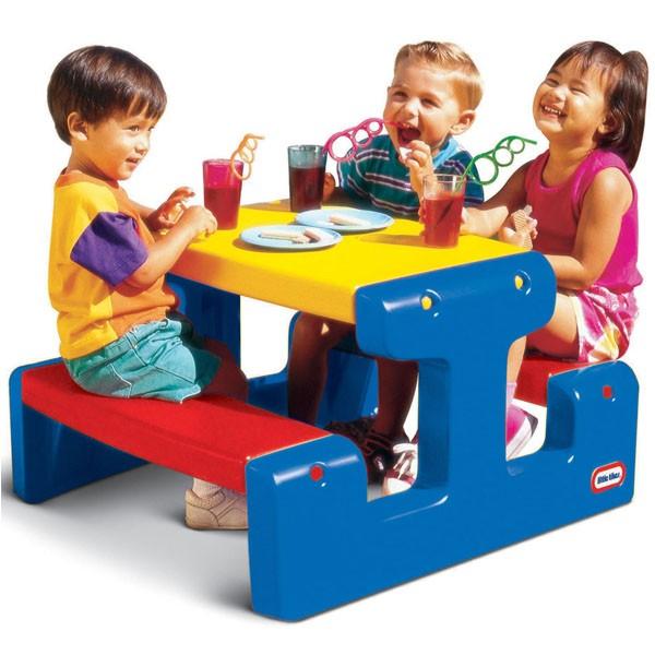Игровой стол со скамейками LittleTikes