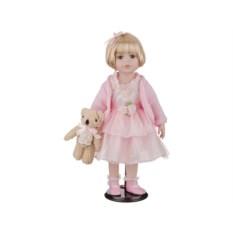 Фарфоровая кукла Изабелла с мягконабивным туловищем