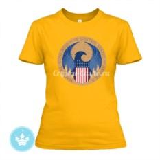 Женская футболка Американский магический конгресс