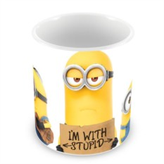 Кружка I'm with Stupid