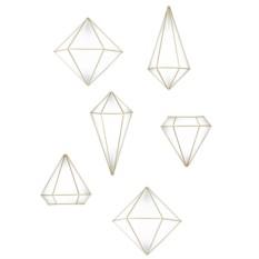Декор для стен Prisma (цвет: латунь)