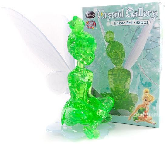 3D головоломка Фея Динь-Динь, зеленый