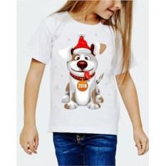 Детская футболка Собака с высунутым языком