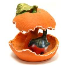 Садовая фигура Кормушка апельсин