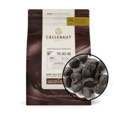 Горький шоколад в монетах Callebaut (2,5 кг)