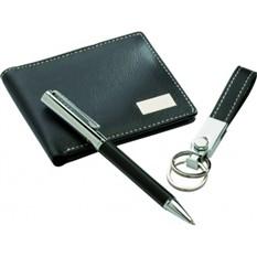 Набор портмоне, ручка и брелок