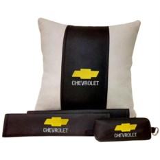 Набор из подушки и накладки на ремень и ключницы Chevrolet