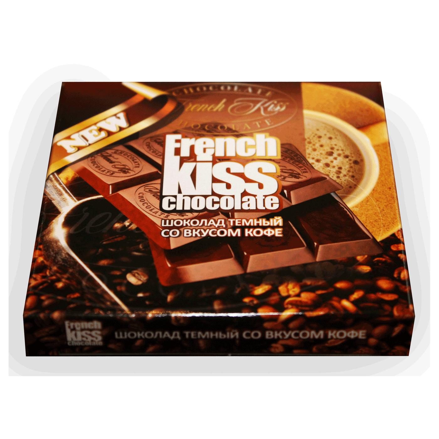 Шоколад темный со вкусом кофе