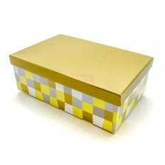 Подарочная коробка Клетка