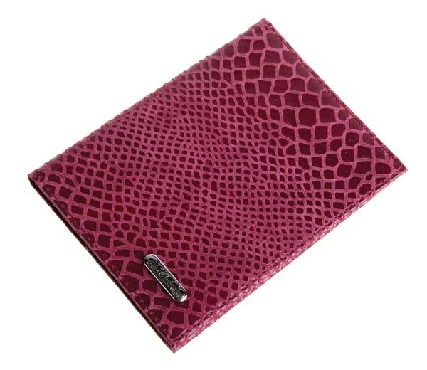 Кожаный бумажник водителя S.QUIRE (бордовый)