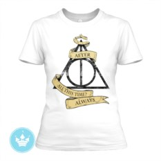Женская футболка Дары смерти