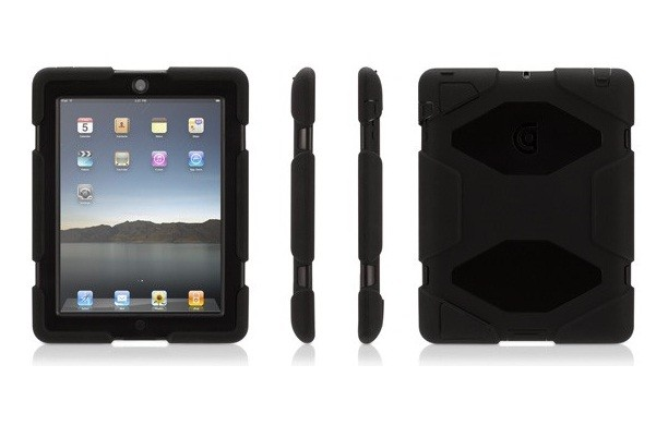 Чехол Griffin Survivor для iPad2, Black