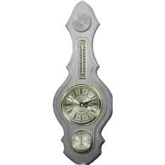 Настенная домашняя метеостанция-часы
