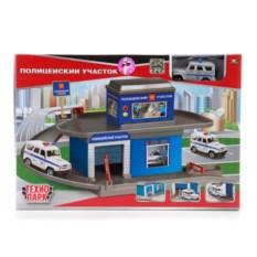 Игровой набор Гараж-паркинг полицейский участок, Технопарк