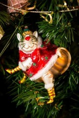 Елочное украшение Веселый кот