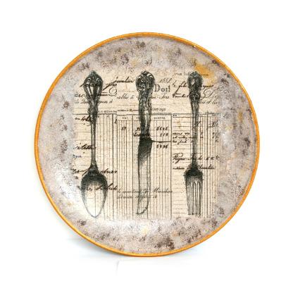 Декоративная тарелка «Обеденный набор»